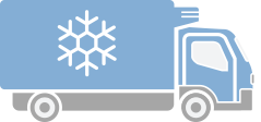 refrigerated truck icon